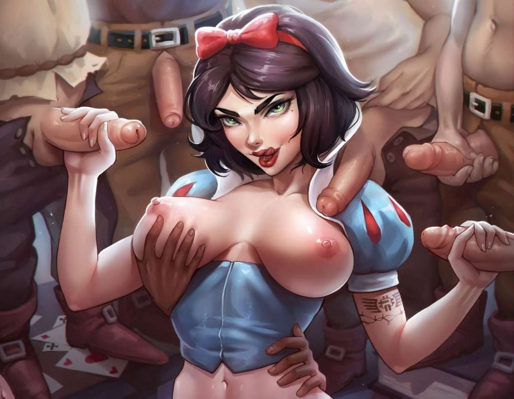 cartoon porn snow white