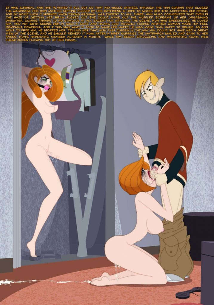 kim possible porn cartoon free