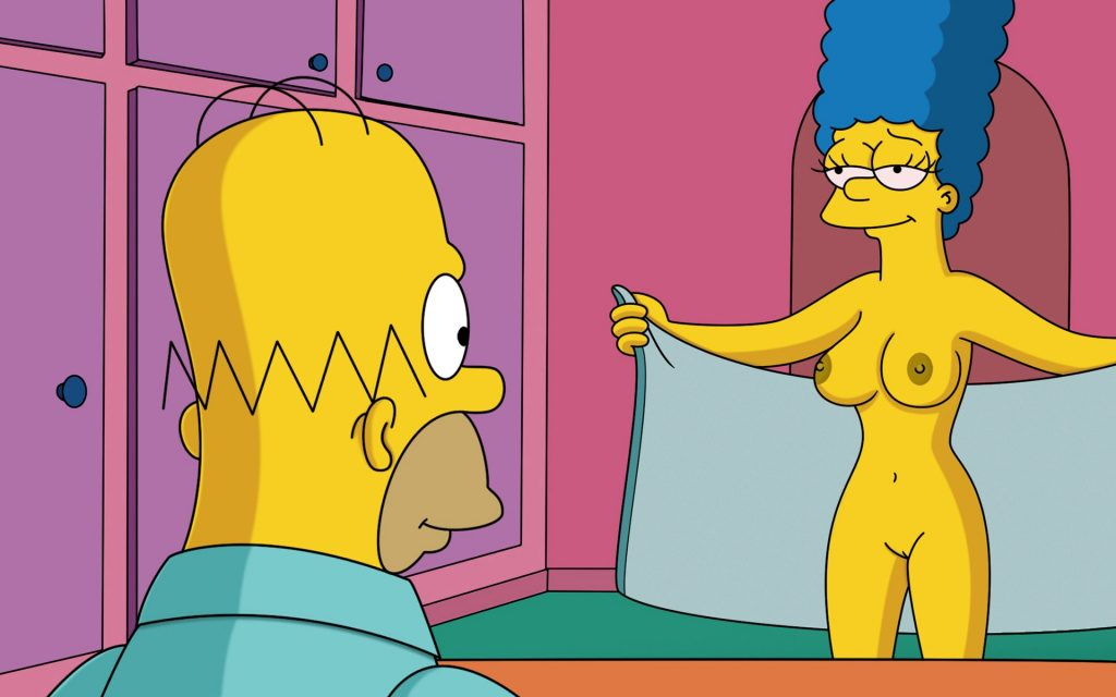 marge simpson cartoon porn